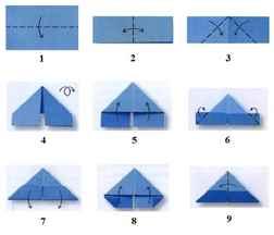Схемы поделок из бумажных модулей
