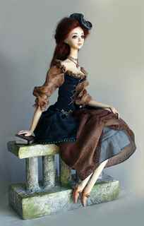 Кукла из полимерной глины своими руками мастер