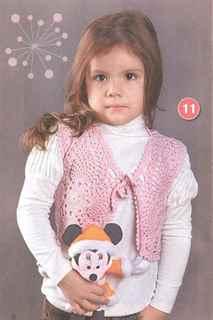 Болеро для девочки 7-10 лет
