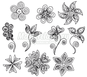 Ниже приведены схемы цветов.