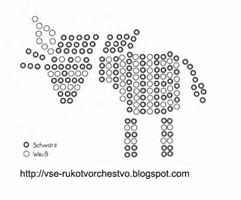 Животные из бисера: схемы для начинающих - объемные и простые