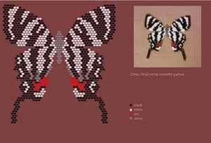 Алые паруса схемы вышивки бисером