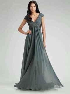 Выкройка платье в пол из шифона