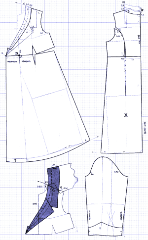 выкройка платья для беременных пошаговая инструкция - фото 4
