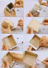 Шкатулки своими руками из картона фото