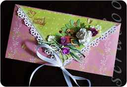 Как оформить конверт красиво своими руками