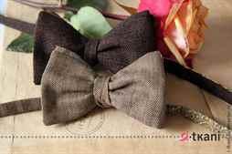 Как сшить галстук-бабочку в 10 простых шагов - Ярмарка Мастеров