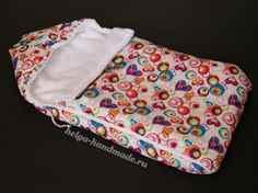 Выкройка конверт для новорожденного мастер класс