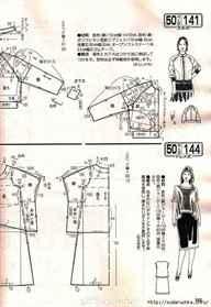 Выкройки разной одежды