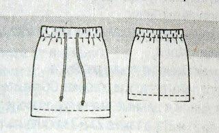 Прямая классическая юбка. Как сшить прямую юбку 8