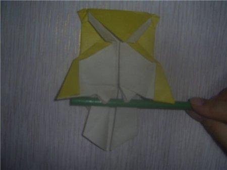 В оригами схема совы