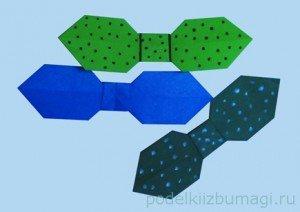 Сделать бабочку галстук своими руками из бумаги