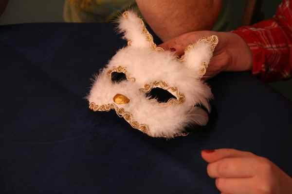 Маски из папье маше своими руками кошка