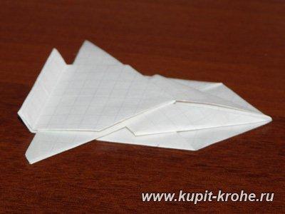 Стол из бумаги для кукол
