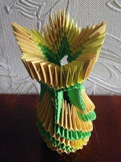Модульное оригами самовар схема фото 444