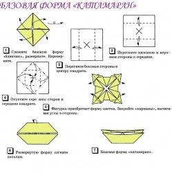 знакомство с искусством оригами