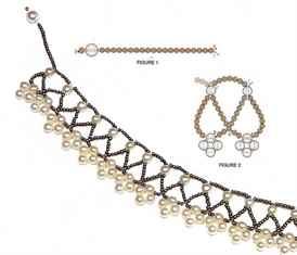 Ожерелье из бисера своими руками схемы