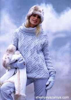 сколько пряжи надо на женский свитер