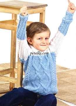 Свитер для годовалого ребенка связать