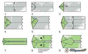 Как сделать из бумаги рубашку и галстук