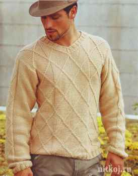 Модели мужских пуловеров