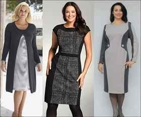 Скачать выкройку платья для женщины