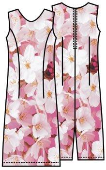Скачать выкройку платье футляр 46 размера бесплатно