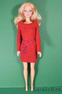 Как сшить платье для кукол барби без липучек 38