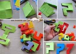 Как сделать гирлянду из бумаги своими руками