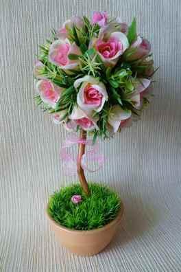Горшок для цветов своими руками из бутылок фото 504