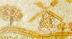 Поделка из риса и пшена