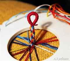 Плетение браслетов из шнурков и бусин