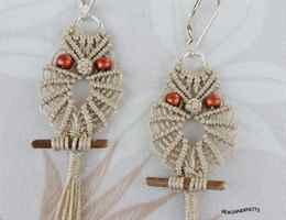 Макраме плетение совы сова