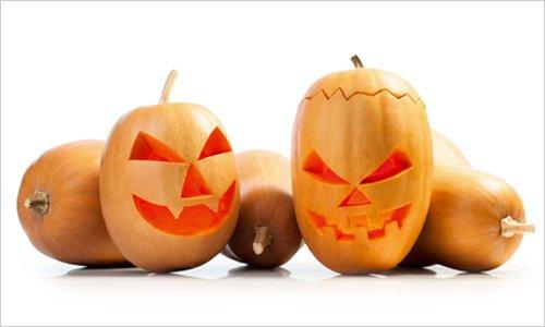 halloween gresskar tegning