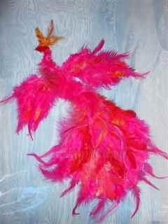 Птица из ткани Коробочка идей и мастер-классов 59