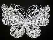 Как Вырезать Ажурную Бабочку Из Бумаги Инструкция