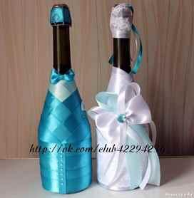 Мастер класс по оформления свадебных бокалов
