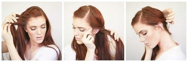 Торжественные прически на длинные волосы