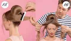 Прически высокие на длинные волосы