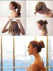 Прически самой себе на средние волосы