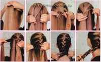 Плетение кос на средние