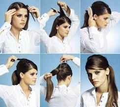 Причёски на каждый день своими руками хвостики