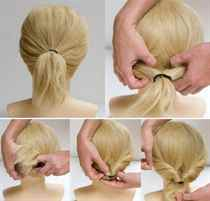 Причёски за 5 минут своими руками