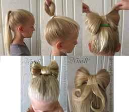 Какую можно сделать причёску девочке на свадьбу