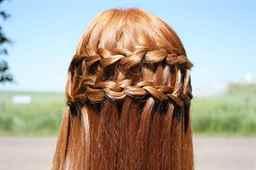 Схемы причесок на средние волосы для девочек