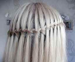 как выглядит коса водопад