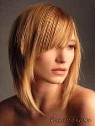 Стрижки для тонких волос высокий лоб фото