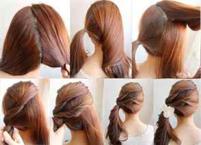 Лёгкие красивые причёски на средние волосы