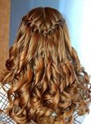 Прически с плетением на длинные волосы