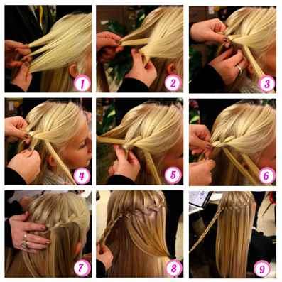 Причёски как плести фото